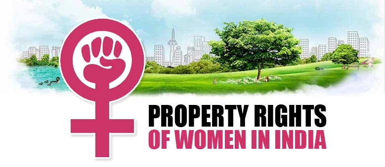 Various Property Rights of Women in India