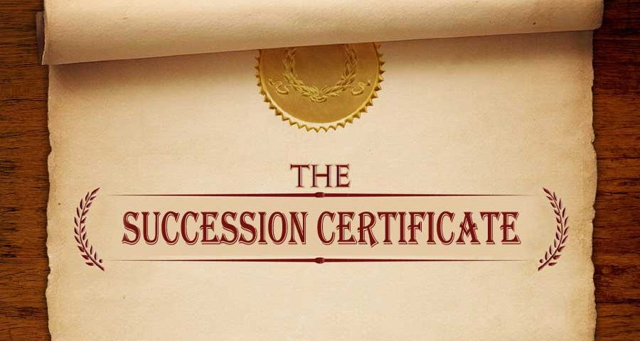 How to Get Succession Certificate in India