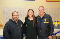 LYSC SCHOLARSHIP: Anthony Iacoviello, Kate Mitchell, and Bruce Madden