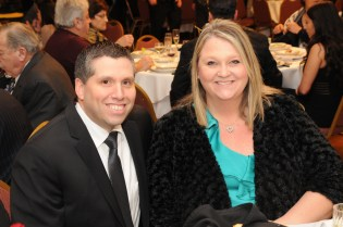 State Senator Sal DiDomenico is shown with his wife, Tricia.