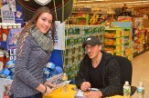 Erin Lewis with Brad Marchand