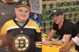 Vincent Spartichino with Brad Marchand