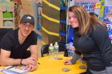 Brad Marchand with Gina Terriciano