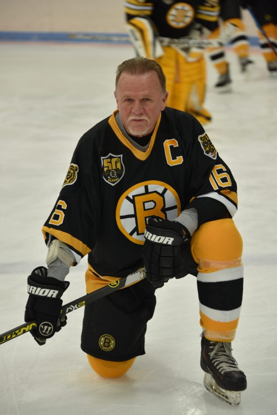 Bruins Captain Rick Middletonz
