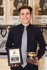 Boys Ice Hockey Pioneer Pride Award winner & LAA 2017-2018 Boys Hockey Scholar-Athlete of the Year Zachary Rothwell