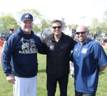 Mayor Christenson with Steve Frecker and Malden High School Ad Charlie Conefrey