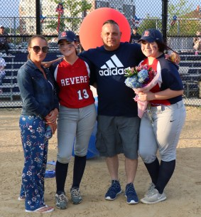 Captain Alina Giuliano with her mom, Leanne & Scotty and sister, Jolie.
