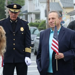 Malden Police Chief, Kevin Molis was on hand for the dedication as well as Ward 2 Councillor Paul Condon.