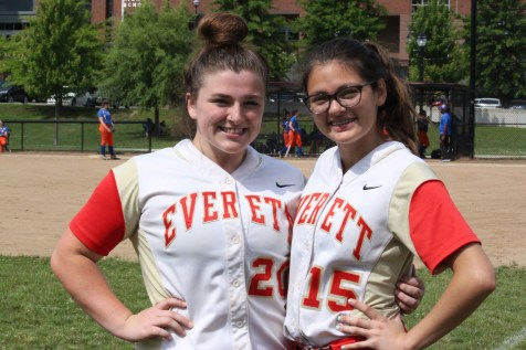 These two top performers on the Tide girls softball team will be back for the 2019 season. Junior catcher Kaylee Nearen and sophomore pitcher Ariana Garay who will surely help carry the team to another spot in the state tournament.