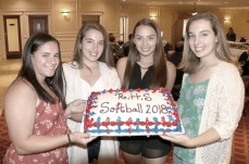 The Captains, Victoria Correia, Mackenzie Cunningham, Melaina Polan and Madison Cunningham.