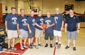 The Class of 1981 had a great turnout for the alumni game. Jim McCoy, Jim Mercurio, Fred McDonough, Bill Carroll, Rick Hayes, George Hurley and John Kingston.