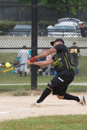 A Strike Out Cancer softball fundraiser was held at Glendale Park all weekend