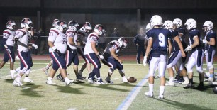It was a great night to be a Patriot, another play from the Tanner 1/2 yard line.