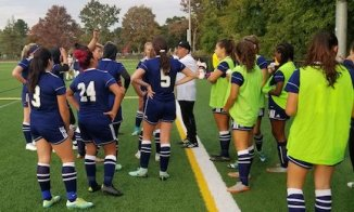 The MHS girls' soccer team is off to an 8-2-1 start under head coach Rick Caceda. (Courtesy/MHS Athletics)