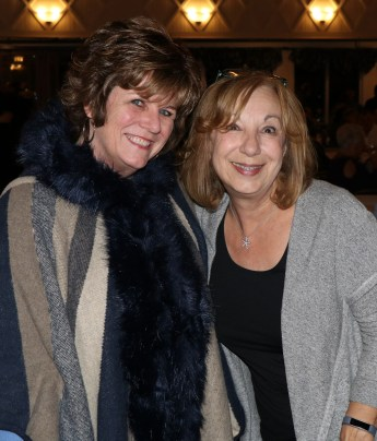 Jane Rizzo with State Representative RoseLee Vincent ready to enjoy the comedy night.