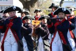 The Boston Fife and Drum Brigade were a hit in full costume.