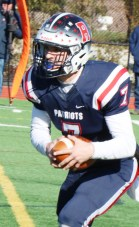 Jonathan Murphy took the Patriots to the best record in 35 years and the third win over the WHS Vikings in as many years.