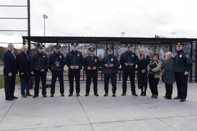 The Everett Police Department was honored by the Horses and Heroes Foundation on Tuesday.