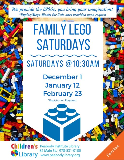 Family LEGO Saturdays
