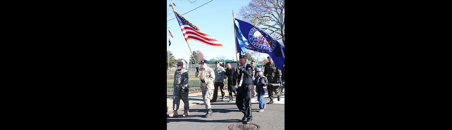 Malden honors its veterans with parade, dedication ceremony