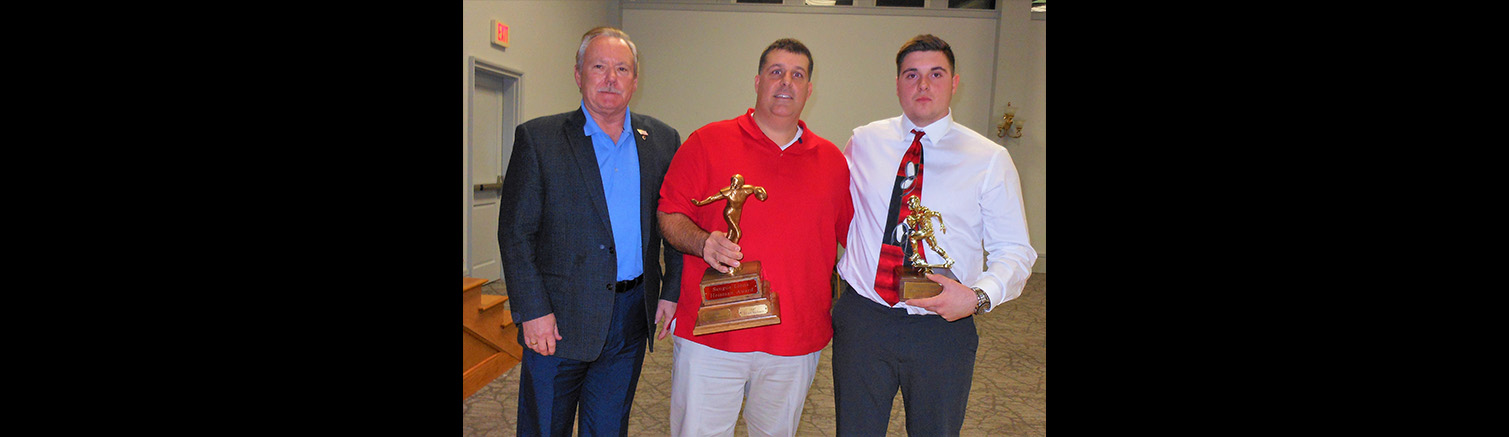 A memorable meal: Saugus co-captain honored at Annual Football Meeting and Dinner