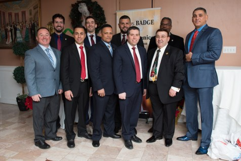 Senator Sal DiDomenico of the DiDomenico Foundation and MassBadge hosted their annual holiday bash at Anthony's in Malden on Saturday evening.
