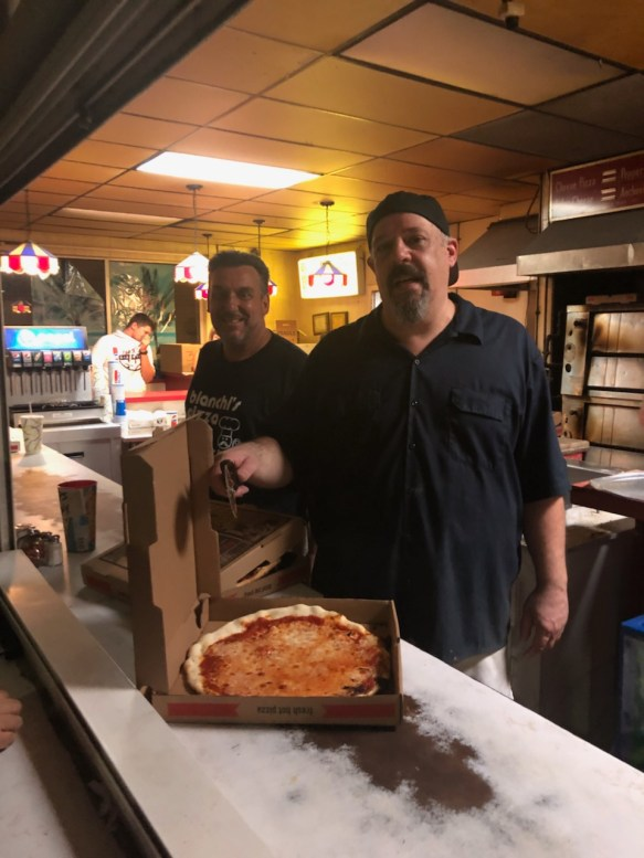 Bianchi's Pizza made their last pizza pie at their at 322 Revere Beach Blvd. location before shutting down for what would have been for a year before reopening at the apartment complex at the same location as a full service restaurant. The owners ended up moving down the street to a local Beach Boulevard bar.