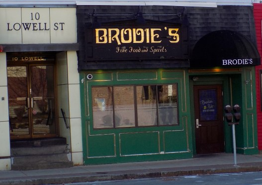 HEADED TO COURT: The owner of Brodie's Pub is being sued by the owner of 1 Main St. for allegedly violating a signed lease agreement to occupy a ground floor space in the downtown area. (Advocate photo by Chris Roberson)