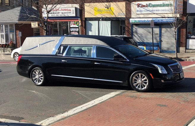 The City was shocked last week at the news of Ersilia Cataldo Matarazzo's death, allegedly at the hands of her husband, Emilio. It was a tragic note to end an eventful 2018. Her hearse is shown leading a long funeral procession down Broadway Thursday afternoon.