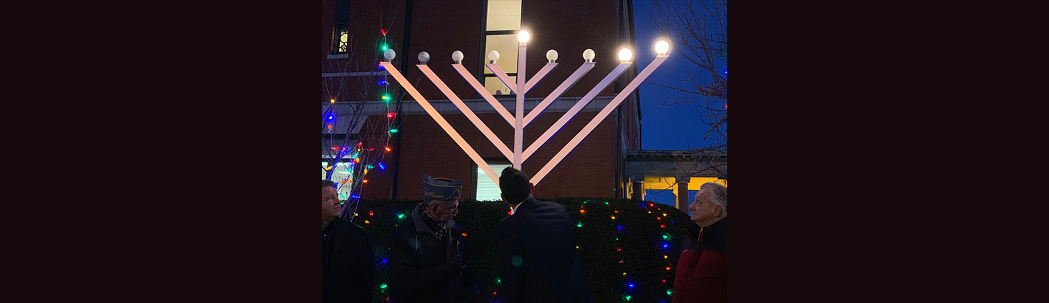 Chanukah celebrates religious freedom and light over darkness