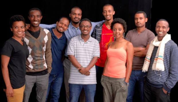 Les blogueurs de Zone9 après leur libération. Photo de la page Facebook de Zone9