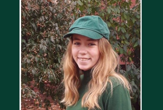 Marina McDonough, volunteer intern and sophomore at HACC