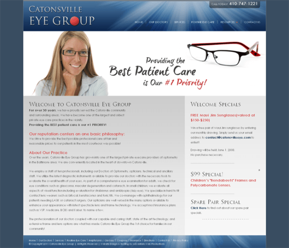 Eye Doctors, Eye Care Baltimore, Catonsville, Maryland, MD_1300971681686