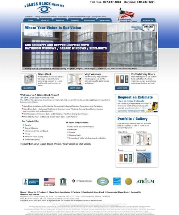 A Glass Block Vision - Baltimore, Maryland, Virginia, DC, Delaware, Ohio_1314652933648