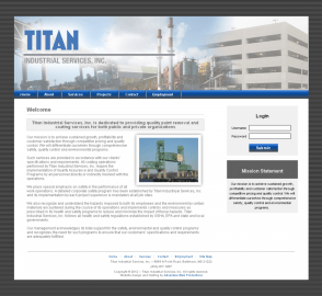 Adventure Web Productions has recently launched Titan Industrial Services, Inc. 's new company website!