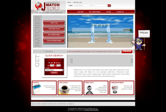 Adventure Web Productions has recently launched JMatchWorld.com's new website!