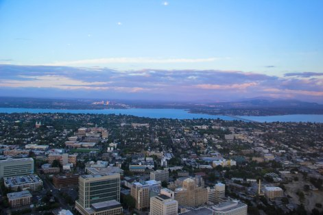 Columbia Center is the BEST place to take in sunset views, on the 73rd sky view observatory.
