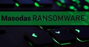 Masodas Virus Removal Guide (+Decrypt .masodas files)