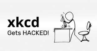 XKCD Web Comic Forums Hacked