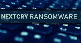Remove NEXTCRY Virus (+Decrypt .NEXTCRY files) – NEXTCRY Ransomware