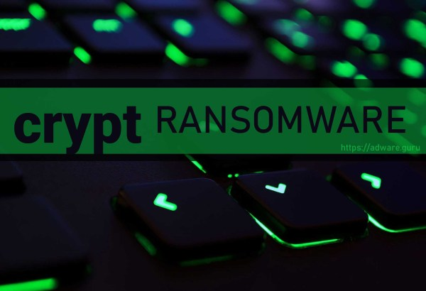 crypt Ransomware - encrypt files with .crypt extension
