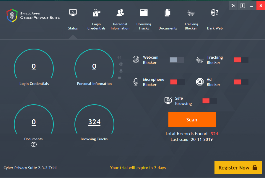 Cyber Privacy Suite Crack Free v3.3 2