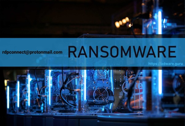 rdpconnect@protonmail.com Ransomware - encrypt files with .rdp extension