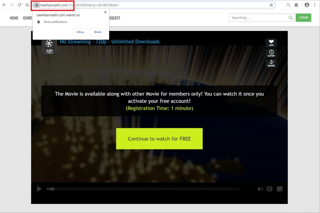 What is Oawhaursaith.com?