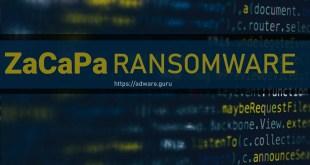 Remove ZaCaPa Virus (.ZaCaPa Files Ransomware) – Xorist Ransomware