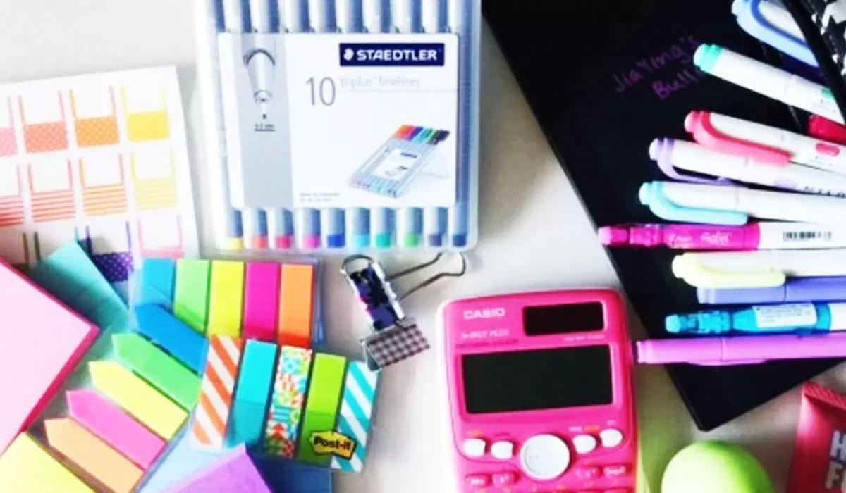 ادوات مدرسية من الألف الي الياء وتجهيزات كاملة للطفل للإستعداد