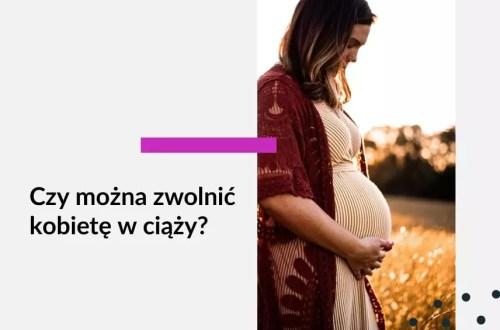 Tekst na grafice: Adwokat Kobiet. Czy można zwolnić kobietę w ciąży? Na zdjęciu kobieta w ciąży.