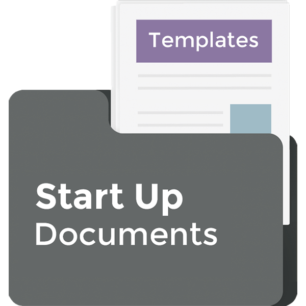 Startup document template