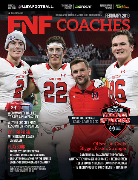 FNF Coaches 2019 Cover