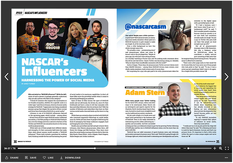 Out of the Groove Weekly Viewer's Guide Influencers Spread